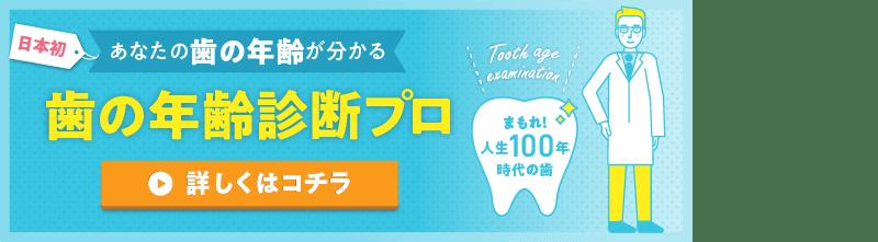 歯の年齢診断プロ